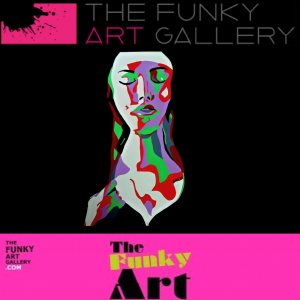 funky art gallery, oxford, nun, jesse, artiste, paris, cool art