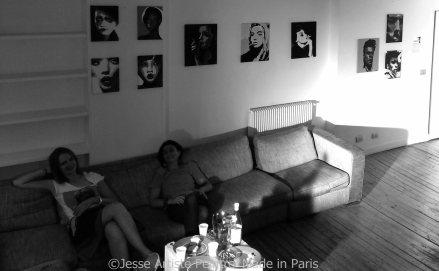 jesse, le marais, artiste peintre, beaudelaire académie, paris