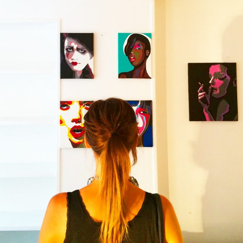 artiste peintre paris, jesse, le marais, artiste peintre, beaudelaire académie, paris