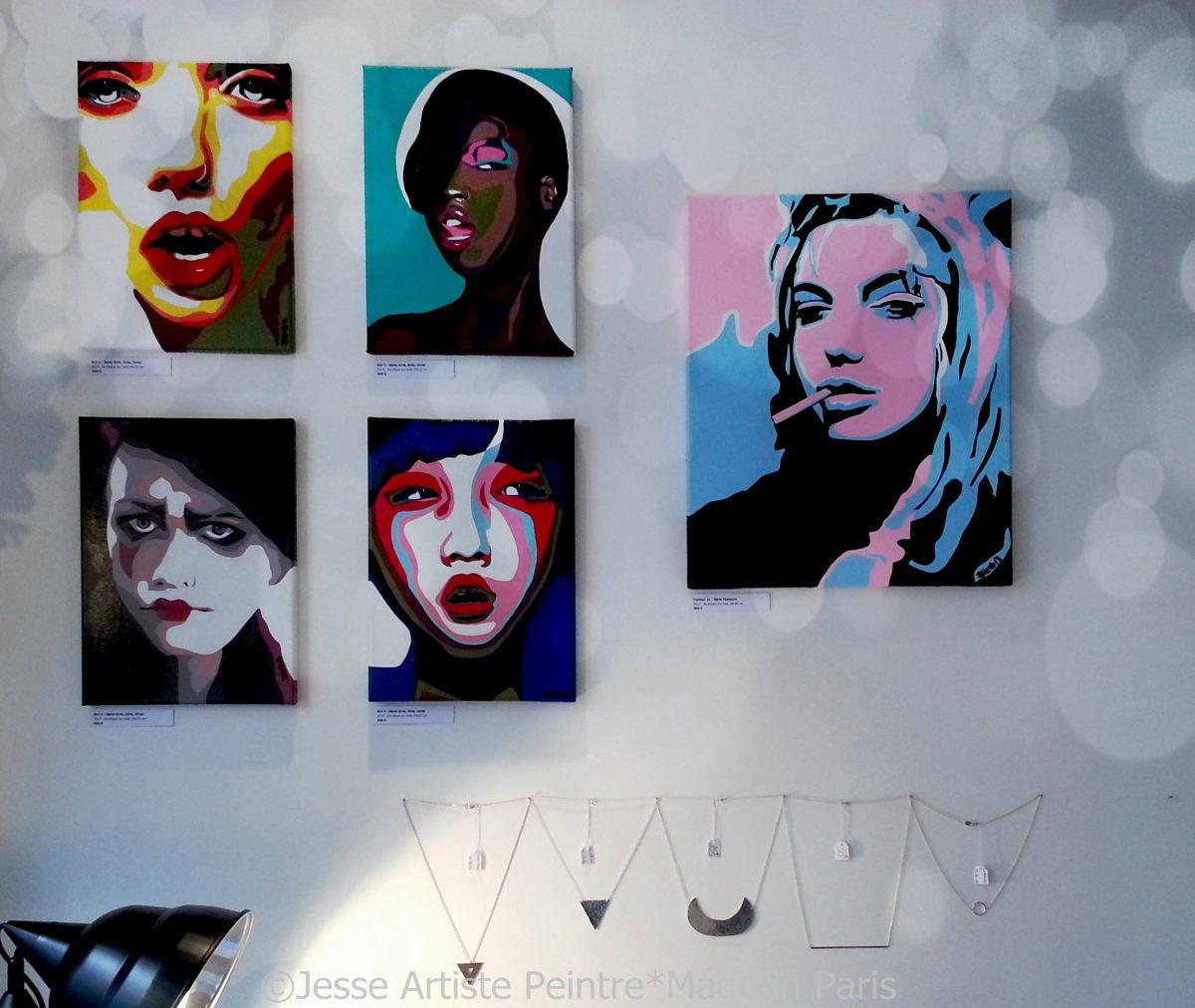 artiste peintre paris, desidero , jesse, artiste, paris, exhibition, exposition