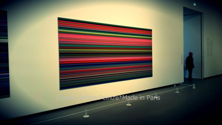 gerhard richter, louis vuitton, foundation, fondation, jesse, artiste, paris