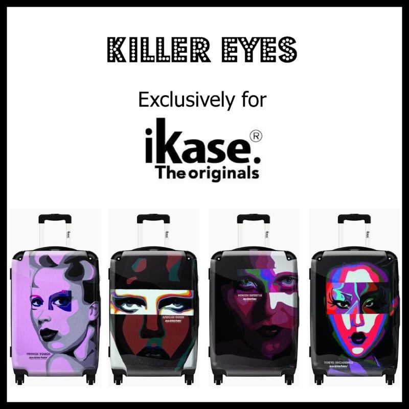 ikase, suitcase, valise, jesse, artiste, paris, le marais