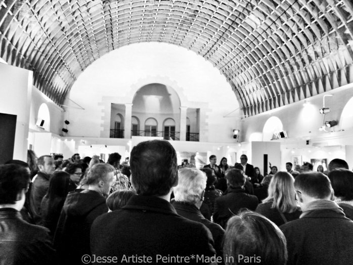 jesse, artiste, peintre, paris, salon d'art de saint germain en laye, 2015