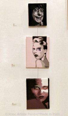 jesse, artiste, peintre, paris, salon d'art de saint germain en laye, 2015