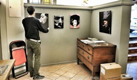 jesse, artiste peintre, galleria arte mentana, firenze, exposition, exhibition