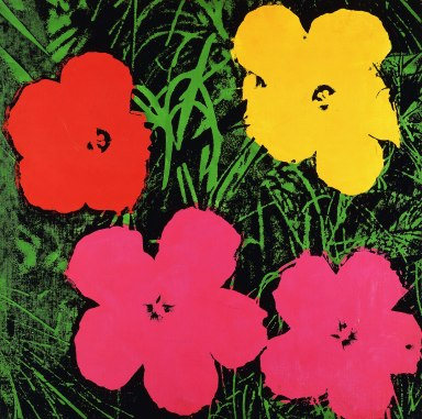 warhol unlimited, musée d'art moderne, paris, jesse artiste peintre, flower