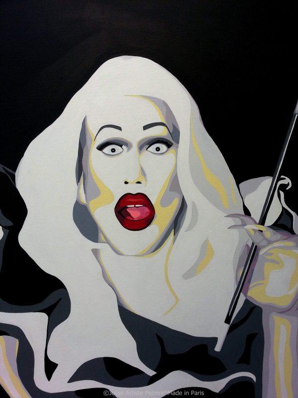 sharon needles, sharon needles fan art, rupaul's drag race, rpdr, drag queen, fierce