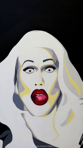 sharon needles, sharon needles fan art, rupaul's drag race, rpdr, drag queen, fierce