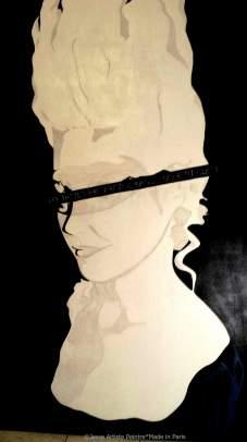 marie antoinette, le petit duc, forum des halles, paris, jesse, artiste peintre