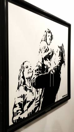 galerie laurent strouk, master, urban and street art, exhibition, paris, jesse artiste peintre, banksy