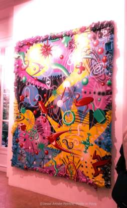 galerie laurent strouk, master, urban and street art, exhibition, paris, jesse artiste peintre