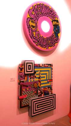 galerie laurent strouk, master, urban and street art, exhibition, paris, jesse artiste peintre, tilt, revok, rime