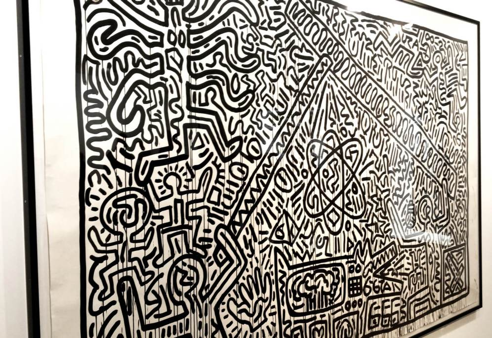 galerie laurent strouk, master, urban and street art, exhibition, paris, jesse artiste peintre, keith haring