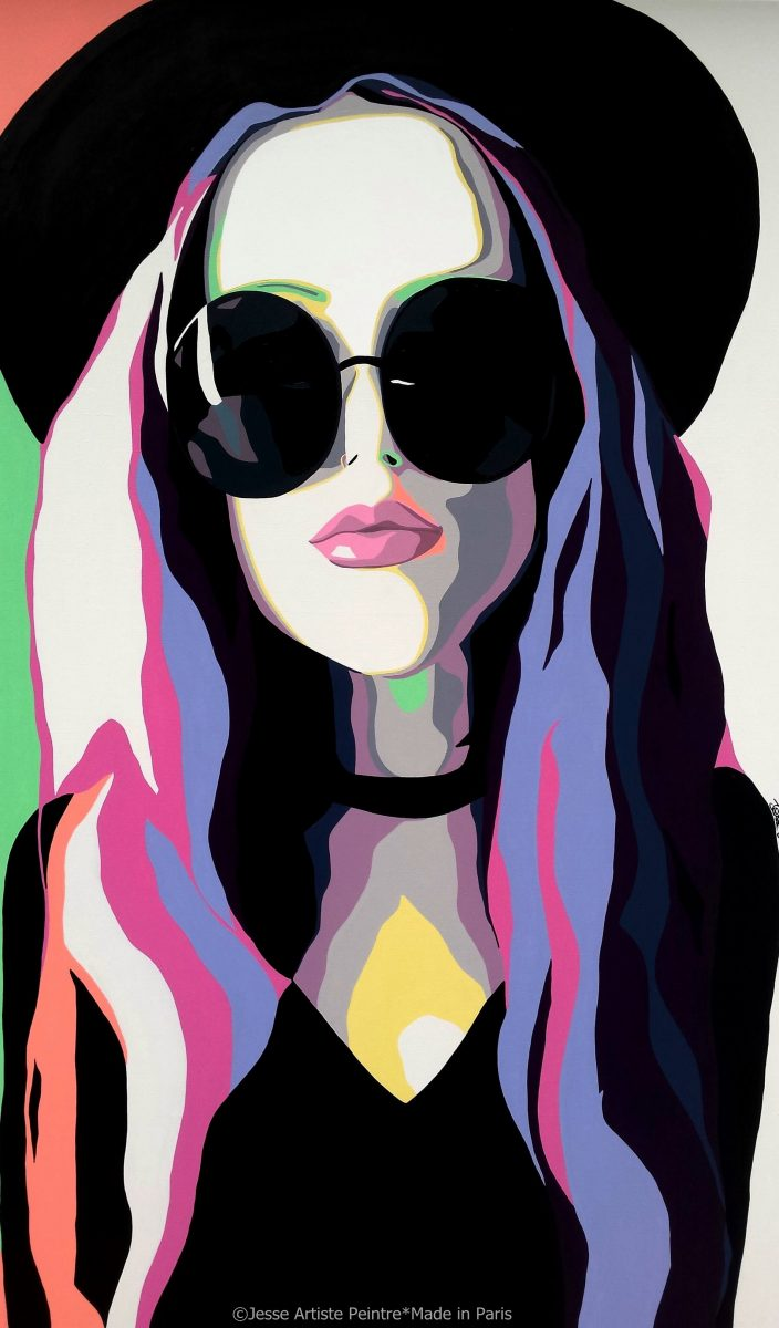 lolita, jesse, artiste peintre, teen spirit, paris, sunglasses