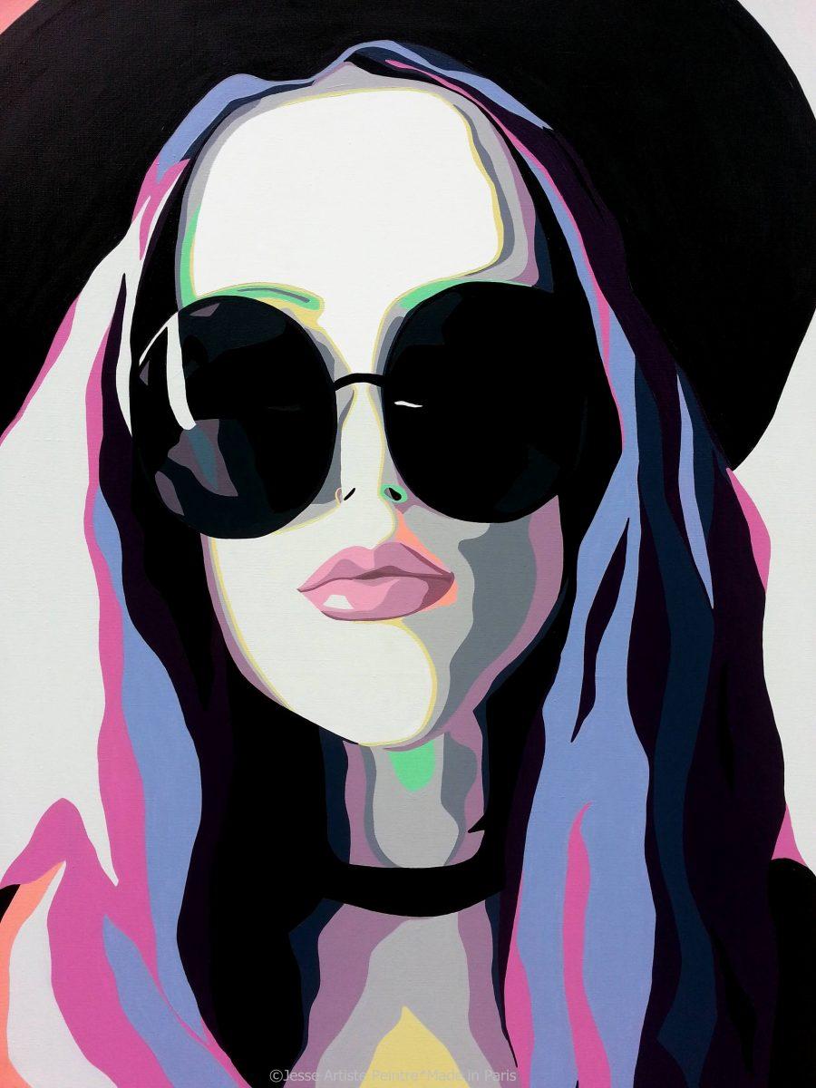 lolita, jesse, artiste peintre, teen spirit, teen art,paris, sunglasses