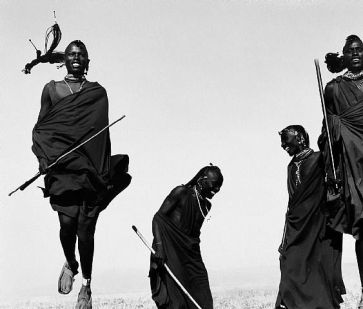 maasai warriors dance ceremony, herb ritts, mep, maison européenne photographie, expo paris, blog