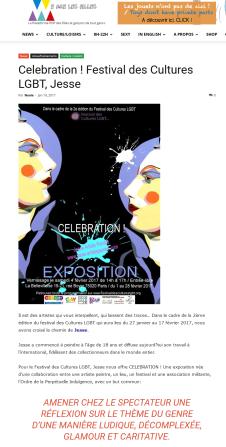 wearelesfilles, neole, soeurs de la perpétuelle indulgence, celebration, la bellevilloise, festival lgbt, expo paris