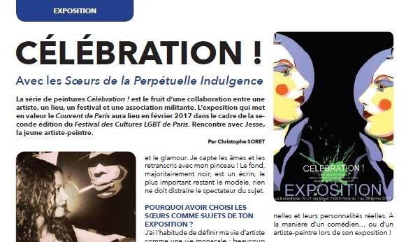 qweek magazine, soeurs de la perpétuelle indulgence, celebration, la bellevilloise, festival lgbt, expo paris