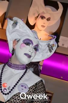 soeurs de la perpétuelle indulgence, sisters of perpetual indulgence, au mange disque, paris, expo, lgbt, drag queen, drag art, nun, qweek magazine