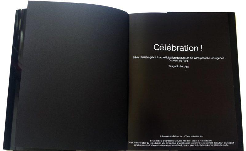 beau livre, celebration, livre d'art, art book, idée cadeau, gift, arty, limited edition, edition limitée, soeurs de la perpétuelle indulgence, sisters of perpetual indulgence, drag queen, drag art, lgbt