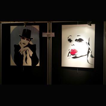 mairie du 3e, paris, salon des artistes, expo paris, drag queen, amanda lepore, tammy brown, rpdg