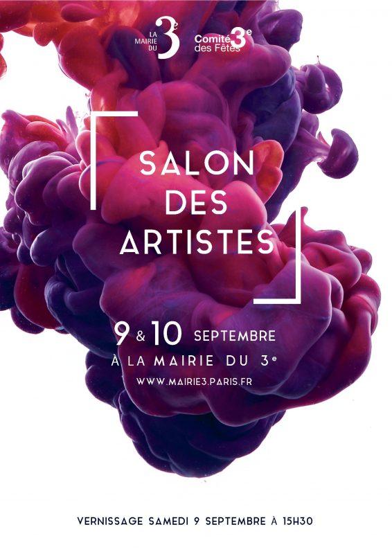 salon des artistes, mairie du 3e, expo paris