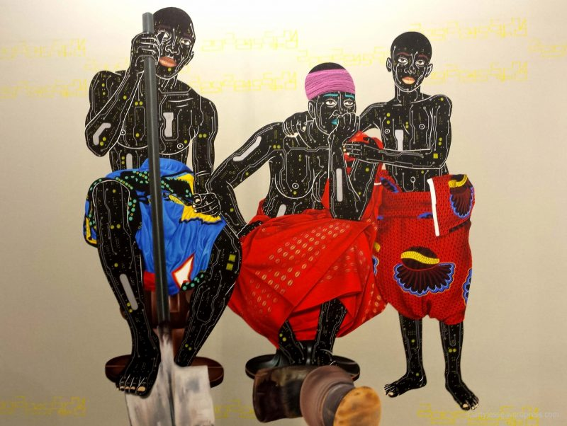 akaa, also known as africa, carreau du temple, expo paris, african art