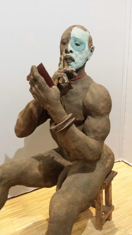 akaa, also known as africa, carreau du temple, expo paris, african art, ousmane sow