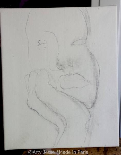 wip, teen spirit, art, painting, paris, french art