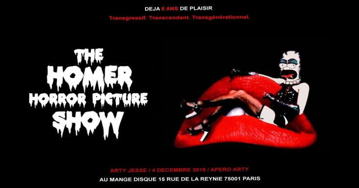 the rocky horror picture show, homer simpson, art series, the rocky horror picture show, homer simpson paintings