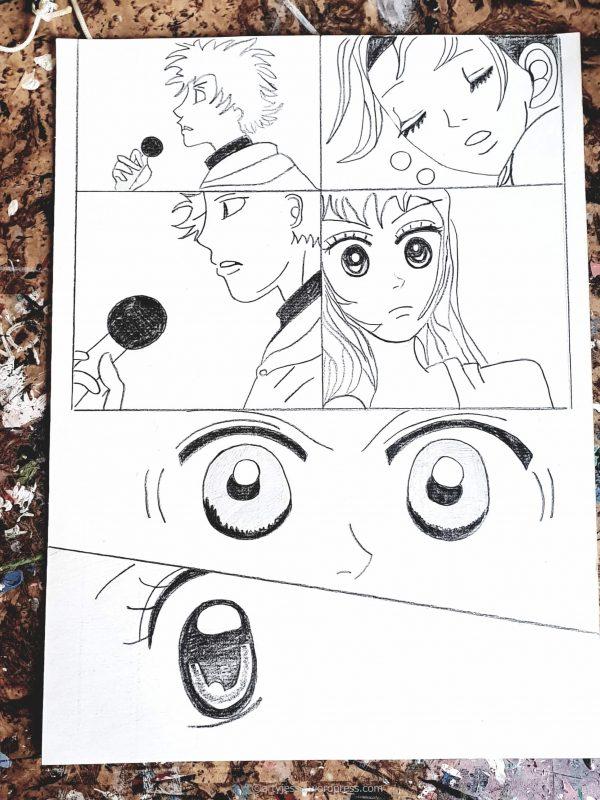 atelier manga, manga creation