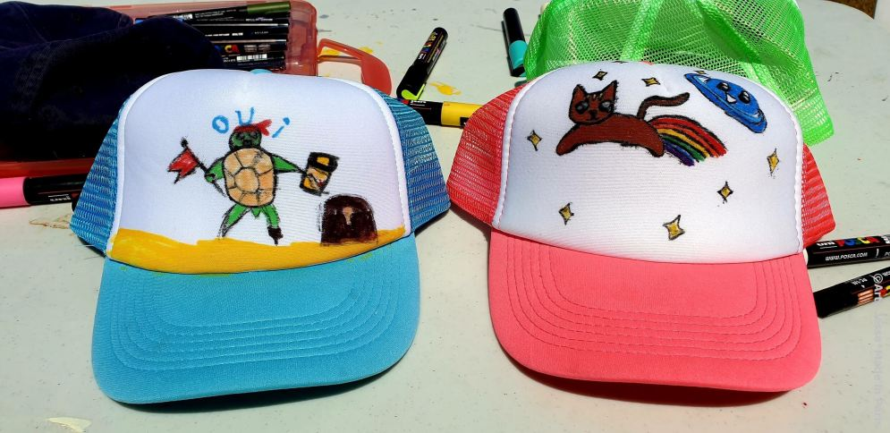 custo graff, custo casquette, gennevilliers, kids workshop