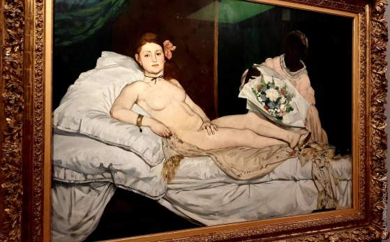 Olympia - Manet