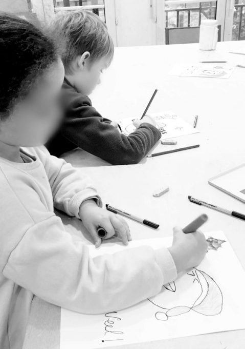 la jonquière, paris anim 17, atelier art, kids workshop, paris