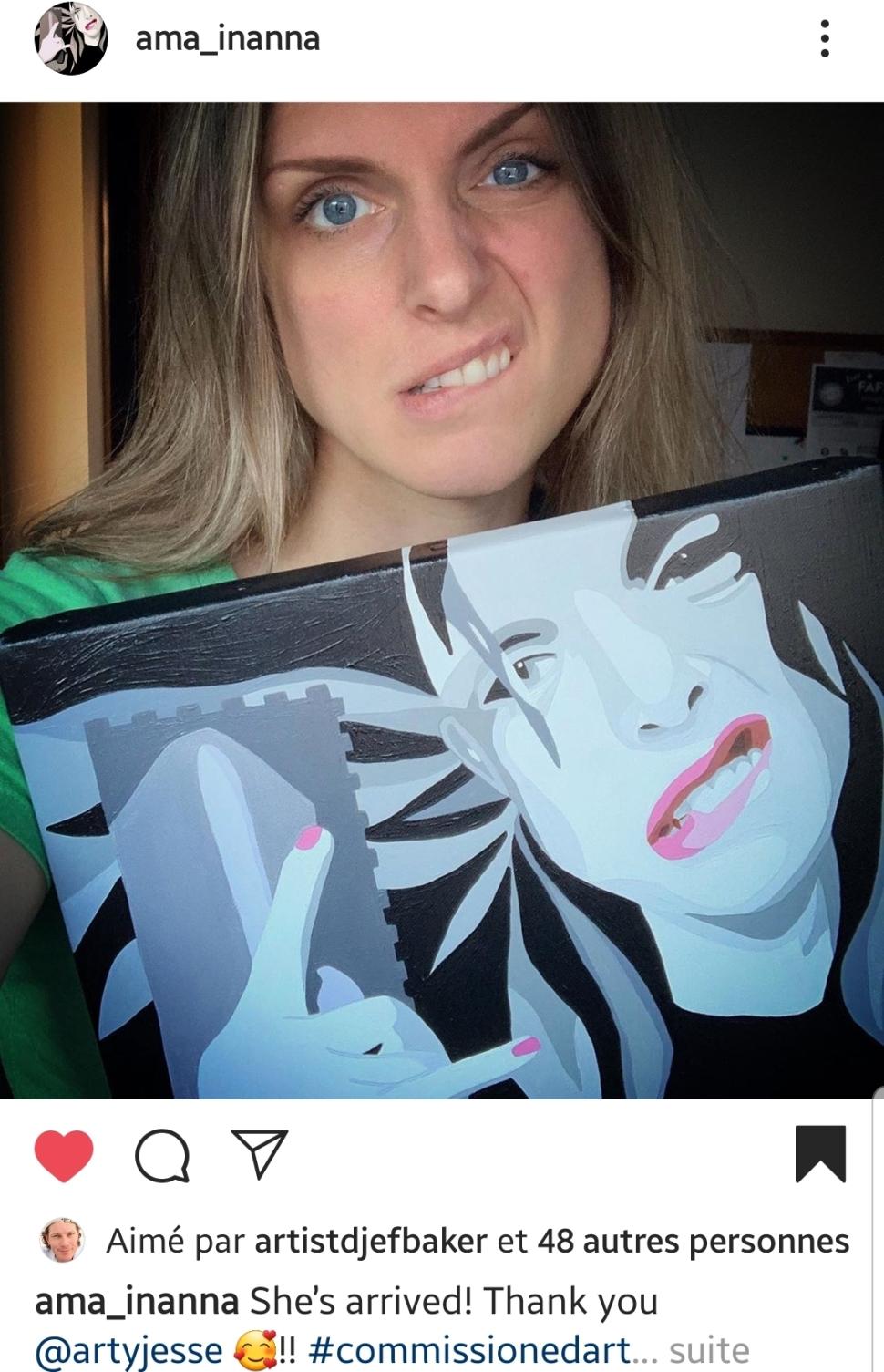 portrait, artiste