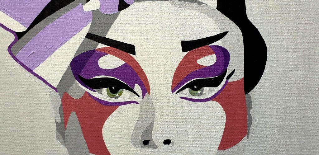 arty jesse, artiste peintre paris, art blog, full moon circus, circus art
