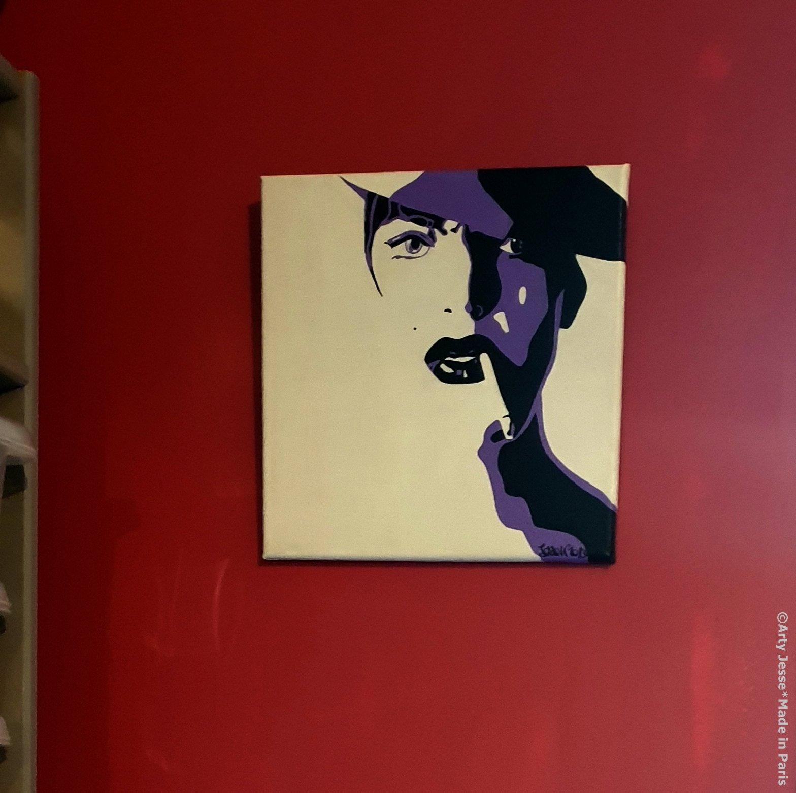 home decor, smoker paintng, androgynous, art blog