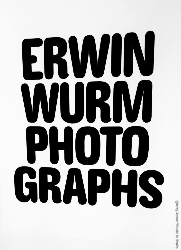 erwin wurm, mep paris, art blog, expo paris