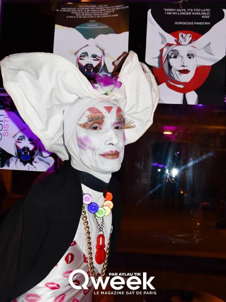 artiste peintre paris, soeur pandora, au mange disque paris, qweek magazine