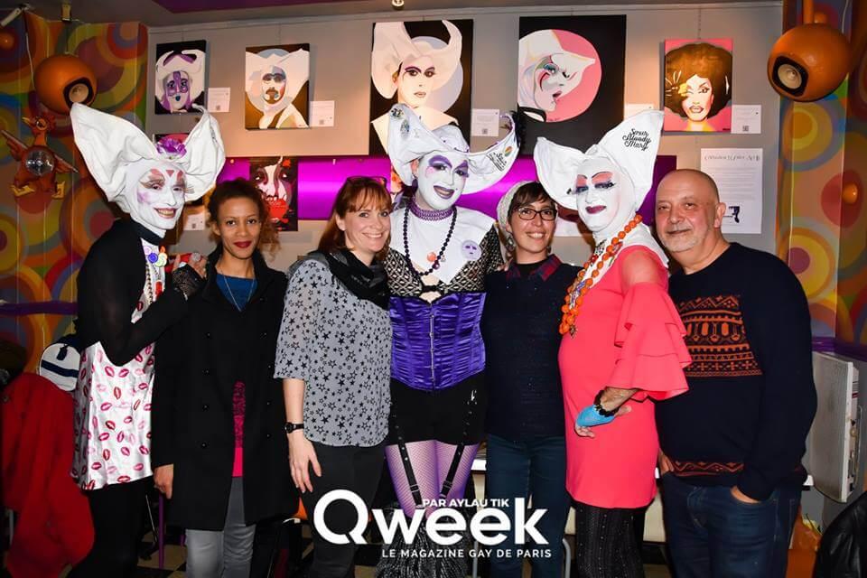 arty jesse paris, les soeurs de la perpétuelle indulgence, au mange disque paris, qweek magazine
