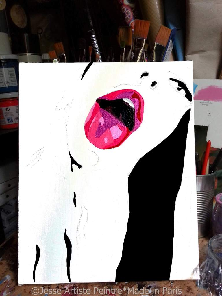 arty jesse, artiste peintre paris, pop artiste, pop art paris, art blog
