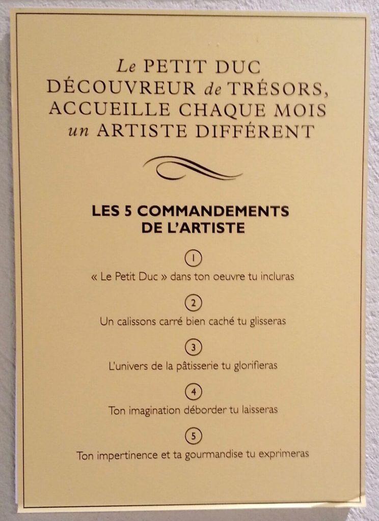 artiste peintre paris, le petit duc