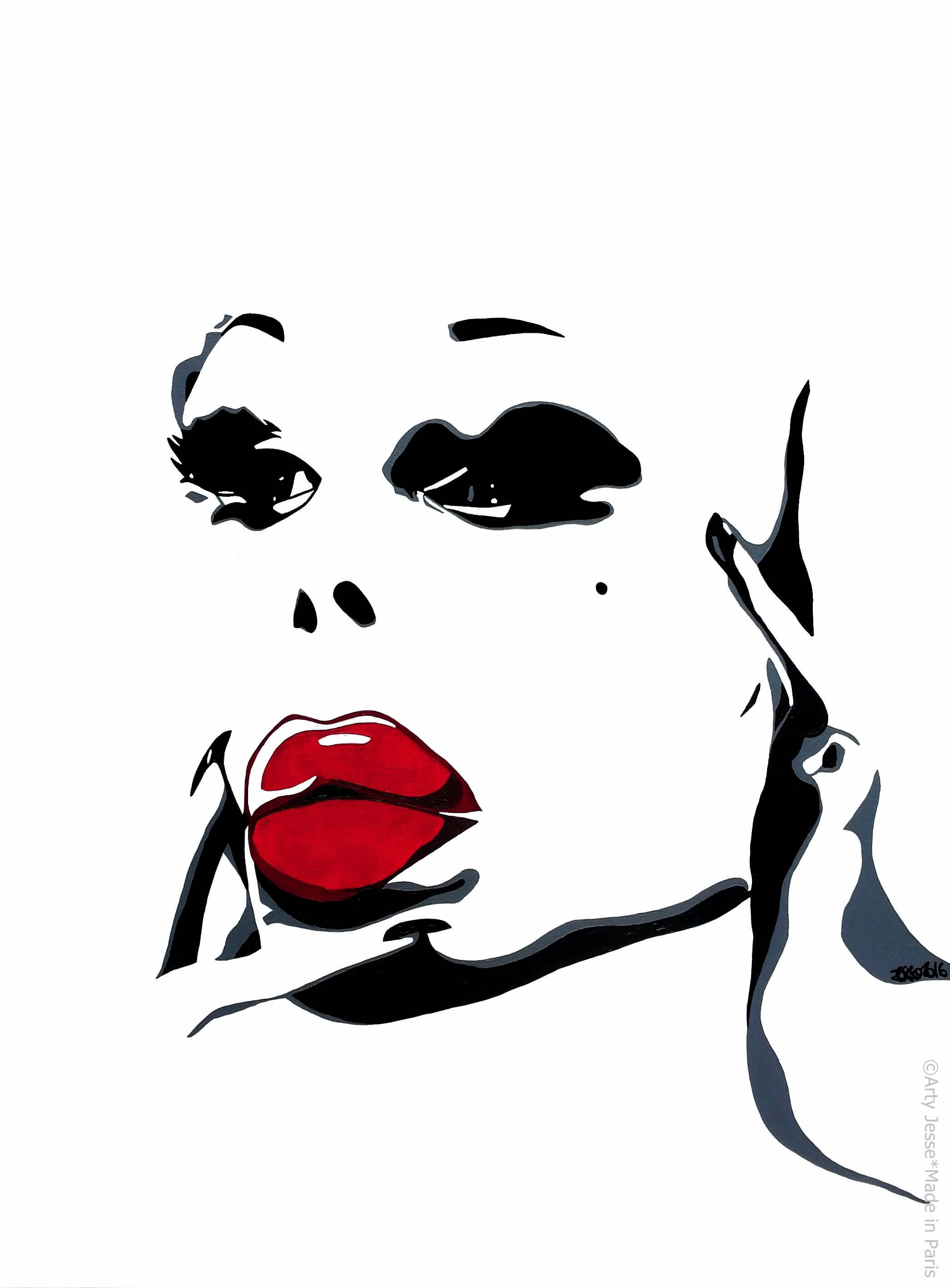 artiste peintre paris, drag queen, drag art, amanda lepore
