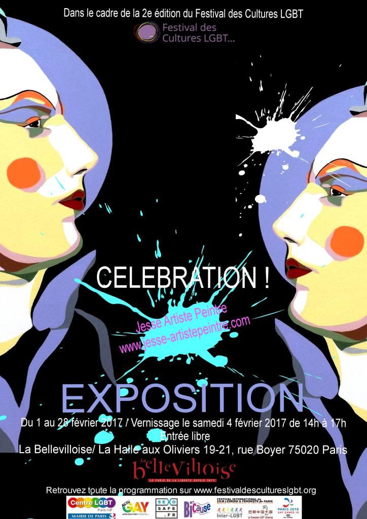 artiste peintre paris, les soeurs de la perpétuelle indulgence, drag queen art, expo la bellevilloise