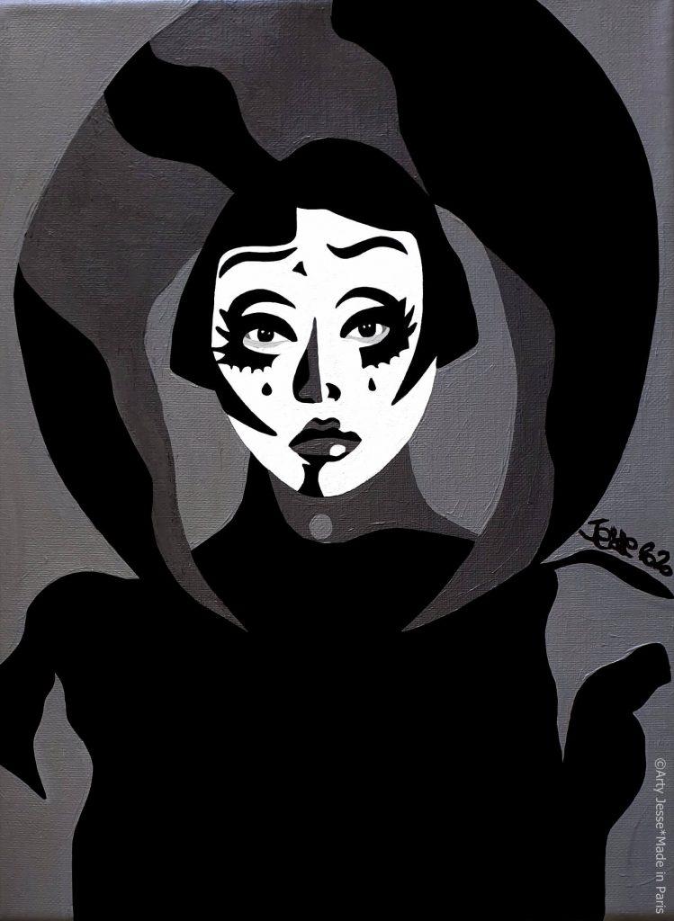 artiste peintre paris, circus art, kim chi, drag art, drag queen, rpdr