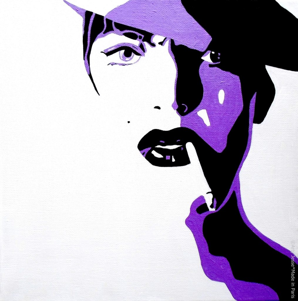 artiste peintre paris, smoker painting, smoker art, androgynous painting