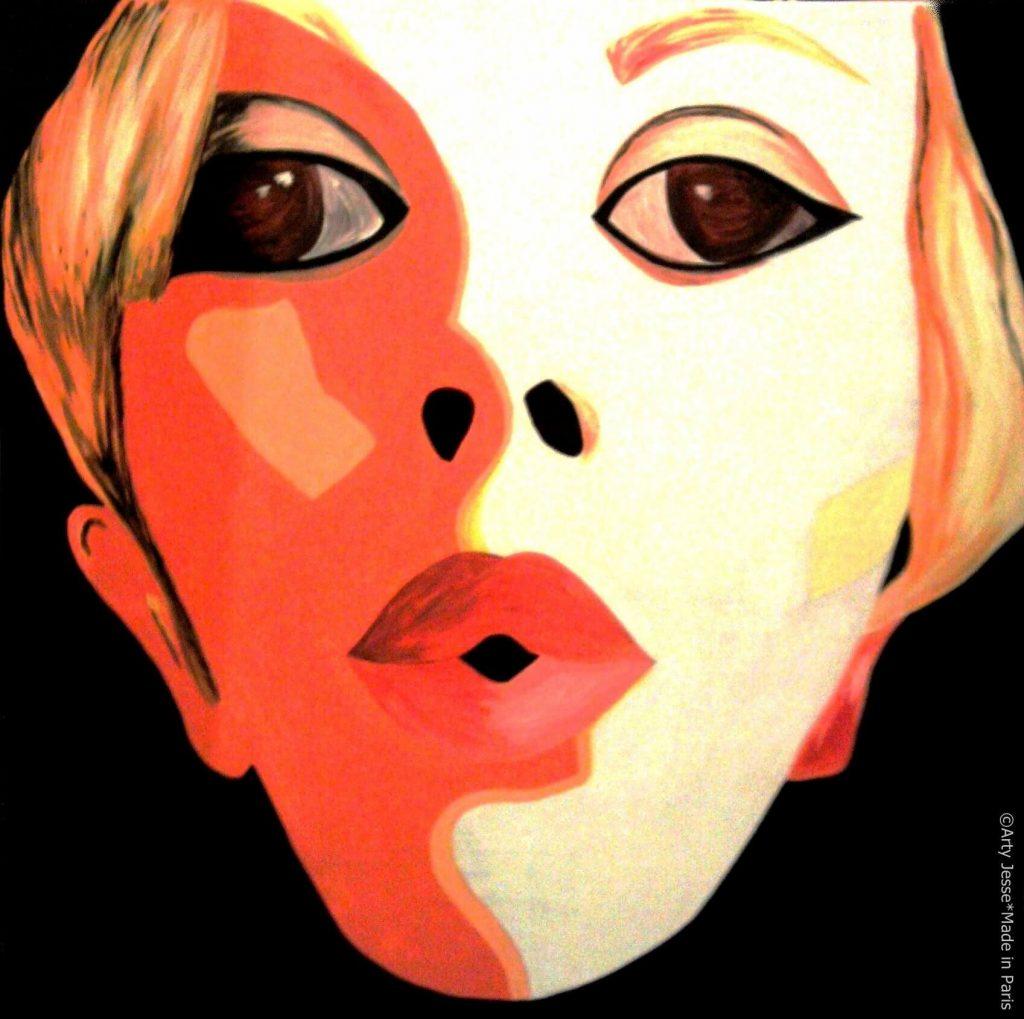 artiste peintre paris, pop art paris, twiggy painting