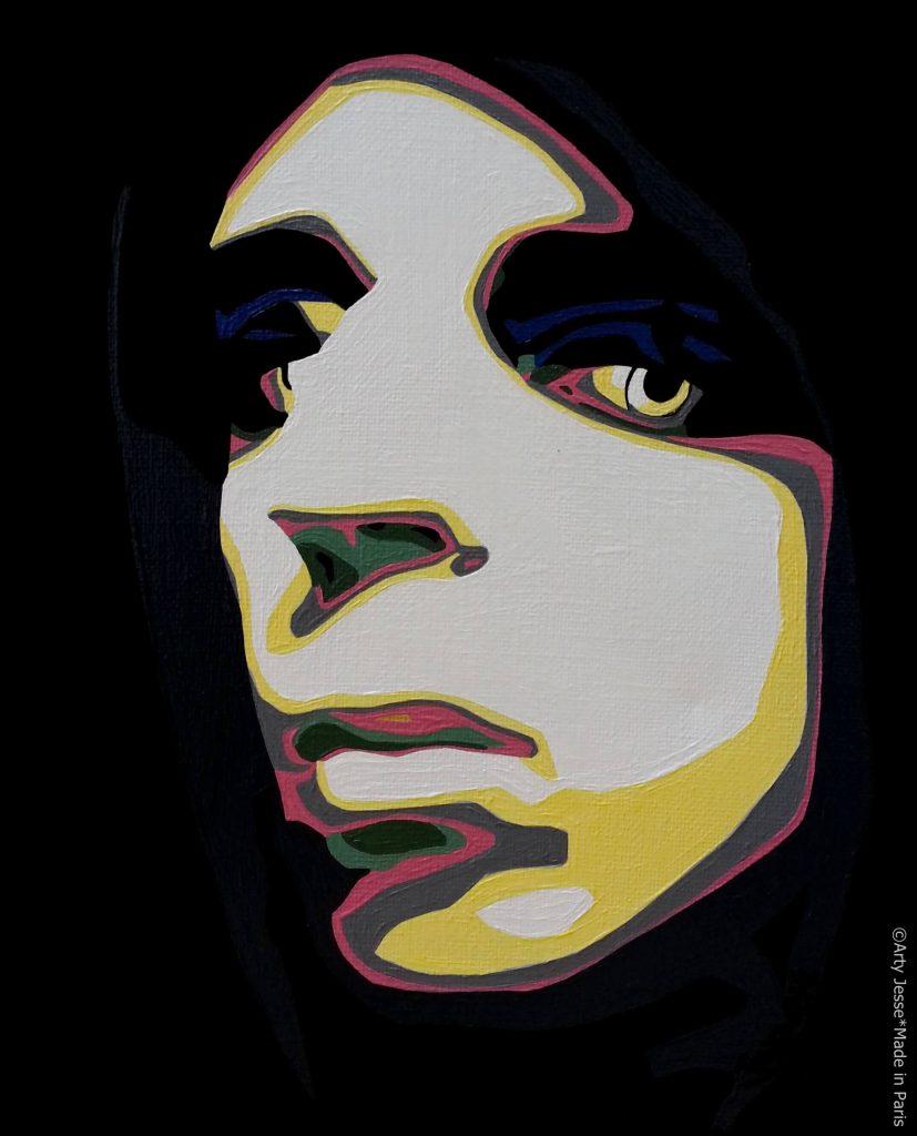 artiste peintre paris, pop art paris, ivan miedho, miedho art