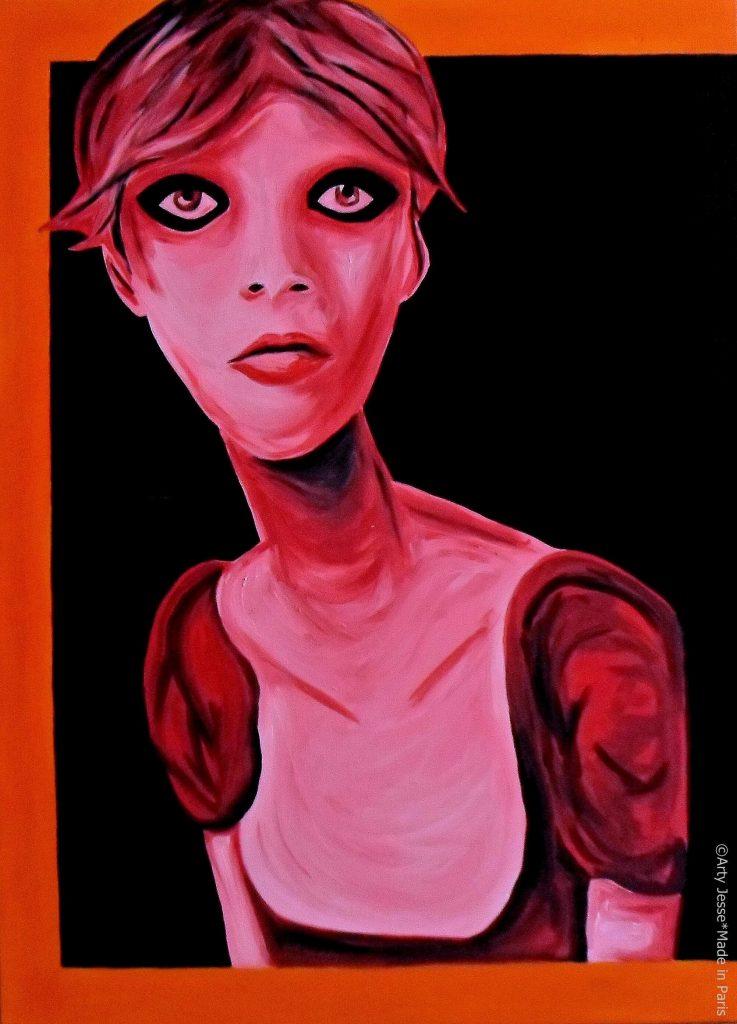 artiste peintre paris, pop art paris, thin painting, thin art