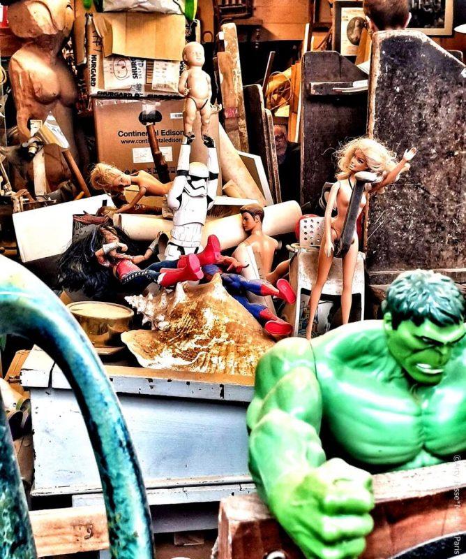 artiste peintre paris, photographie, paris pictures, beautiful bizarre, hulk, barbie
